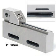 Cnc Wire Edm High Precision Vise Stainless Steel 4 100mm Jaw Opening Clamp Tool
