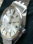 Seiko Grand Seiko Vintage Date Stainless Steel Mens Watch Authentic Working