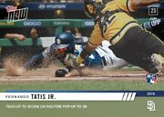 2019 Topps Now 421 Fernando Tatis Jr Rc Rookie Tags Up To Score Sp483