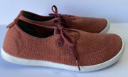 Allbirds Womenand039s Size 11 Tree Skippers Boat Shoes Sunkissed Orange White Soles