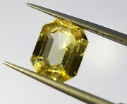 3 Carat Video Available Natural Sapphire Golden Color Vs Eye Clean Top Luster A+