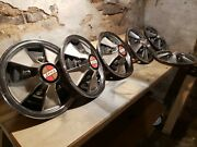 Jeep Super Wagoneer Jeepster Commando Faux 14 Hubcaps -sold Individually