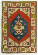 7.6x11 Ft Central Anatolian Konya Rug. Wool Carpet For Home And Office
