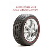 225/45r18 555 G2 Nitto Tire With 1.5 White Wall - Modified Sidewall 1 Tire