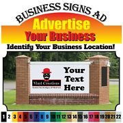 Custom Vinyl Text Business Name/lettering Decal Window Street Sign Logo Name
