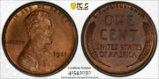 1911 Pcgs Pr64bn Matte Proof Lincoln Wheat Cent Very Close To Rb