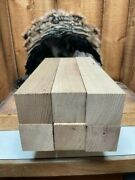 Lot Of 7 - Reclaimed American Chestnut Box Call Or Turning Blanks 2 X 2 X 12