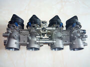 Modified Throttle Bodies And Motor Inlets For Kawasaki Z750 Z1000 2nd Generation