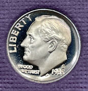 1985 S Proof Roosevelt Dime From Proof Set With Free Shipping
