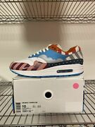 Pre Owned Nike Air Max 1 Parra Fnf Friend And Family Pack Size 10