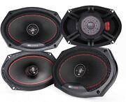 4x Mb Quart Rk1-169 400 Watts 6x9 Reference 2-way Coaxial Car Audio Speakers