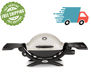 New Weber Q-1200 Portable Gas Grill Model 51060001 Available In Many Colors