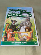 Disney Sing Along Songs The Jungle Book The Bare Necessities Dvd Kids Family