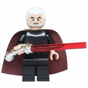 Lego - Count Dooku 75017 Star Wars Minifigure From Duel On Geonosis New