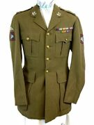 Ww2 British Airborne Para Named Oxs And Bucks Officers Service Dress Tunic
