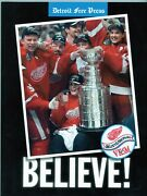 1998 Free Press Soft Cover Book - Believe - 1998 Stanley Cup Run