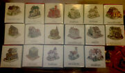 Lot/set Of 17 Liberty Falls The Americana Collection W/ Boxes And 18 More Items.