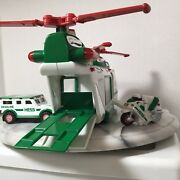 Hess Helicopter Motorcycle And Cruiser Friction Motor Working Lights Rotors 2001