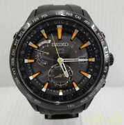 Seiko Astron 7x52-0ae0 Japan Date World Time Gps Solar Mens Watch Auth Works
