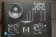 Canon A1 Camera Instruction Book User Guide. Excellent Condition. English Text.