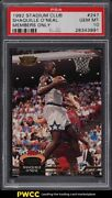 1992 Stadium Club Members Only Shaquille Oand039neal Rookie Rc 247 Psa 10 Gem