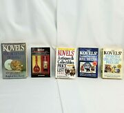 Lot Of 5 Kovels Collectible Id Value Guides Books Bottles Antiques Marks Doulton