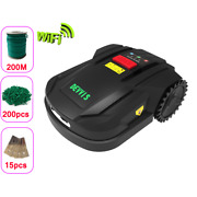 Robotic Lawn Mower 7th Generation With 4.4ah Battery Wifi Schedule