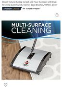 Bissell 92n0a Carpet And Floor Manual Sweeper