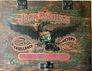 Jack Daniels Squire Collectable Rare American Eagle Collectors Crate 50and039s-60and039s