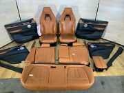 ✅ 14-18 Bmw F85 X5m Door Panels Front Rear Heated Seats Leather Interior Set