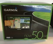 Garmin Nuvi50lm Gps - Black 010-00991-21 Works For Parts Or Fix Sold As Is