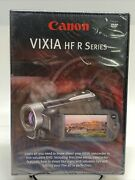 Canon Vixia Hf R Series Instuctional Brand New Dvd Camcorder 2010 - New Sealed