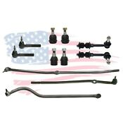 11 Pc Suspension Kit For Ram 2500 3500 Ball Joint Tie Rods Track Bar Sway Bar