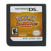 Pokemon Heartgold Nintendo 3ds Ndsi Nds Ndsl Card Us Version Tested