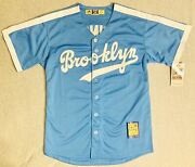 1947 Jackie Robinson Brooklyn Dodgers Light Blue Jersey Size Menand039s Medium