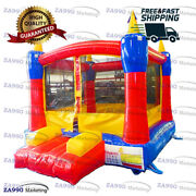 10x10ft Inflatable Colourful Bounce House With Air Blower