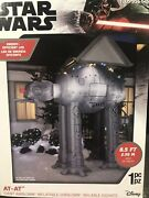 🎄star Wars 8.5 Ft. At-at Reindeer Christmas Inflatable W/ Lights