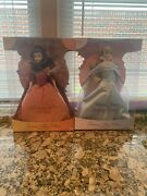 Barbie 2001 Winter Frost Sleeping Beauty And Autumn Rose Belle Enchanted Seasons