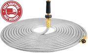 Touch-rich 304 Stainless Steel Garden Hose Lightweight Metal Hose With Free Noz