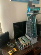Avengers Stark Tower With Led Lights