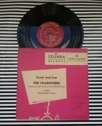 Sweet And Low The Charioteers Mitchell Ayres Lp Columbia Records 1949 Vinyl 10