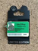 Disney Pin Wdi I.d. Badge Series 2 - Hitchhiking Ghost Phineas Le 300 64507