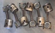 Jaguar 3.8 Xk High Compression 91 Pistons C23510/1 And Connecting Rods Andmdashmvandmdash