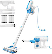 Moosoo Vacuum Cleaner 4 In 1 Stick Vacuum 17000pa Powerful Suction With Led El