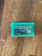 Pokemonleaf Green Versiongameboy Advance, 2004 Nintendo Authentic Tested Gba
