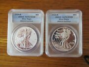 2013 Silver Eagle Enhanced And Reverse Proof Set