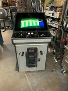 Jaleco Low Bow Arcade Game Cabinet With 25 Wells Gardner Monitor Working Good.