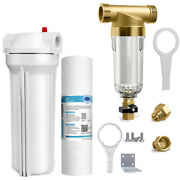 Whole House Water Filter System Spin Down Sediment Pre Water Filter For 102.5