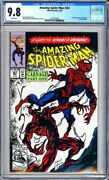Amazing Spider-man 361 Cgc 9.8 1st Full Appearance Of Carnagekey Issuel@@k