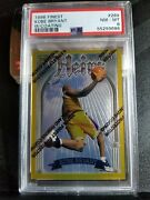 1996-97 Topps Finest Kobe Bryant Gold Heirs Rc Rookie Card W/ Coating 269 Psa 8